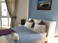 My room at Christina's Saigon